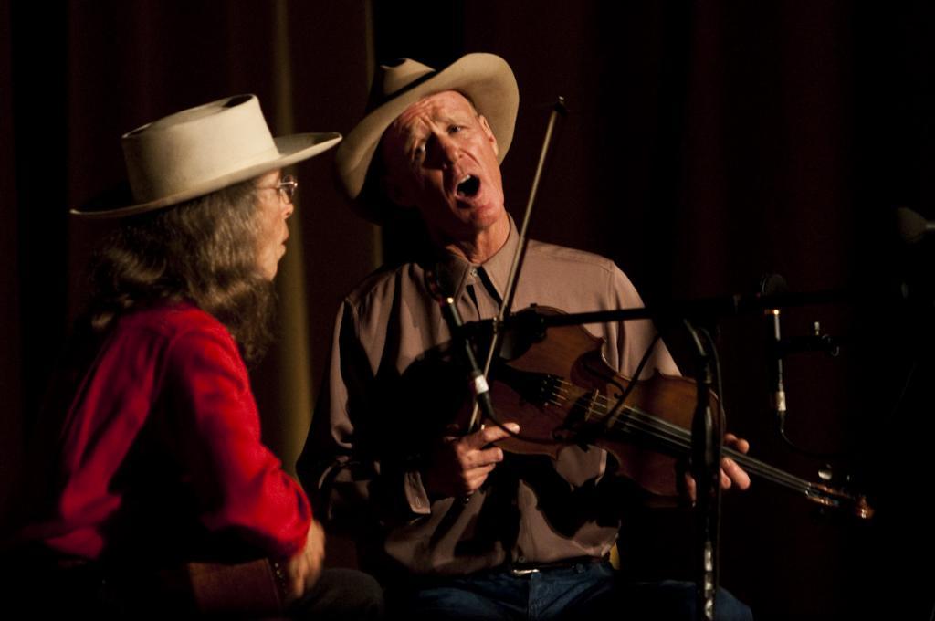 Ron Kane and Meghan Merker