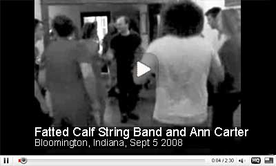 Fatted Calf String Band and Ann Carter in Bloomington